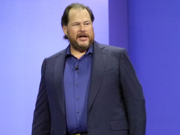 米Salesforce.comのマーク・ベニオフ会長兼CEO
