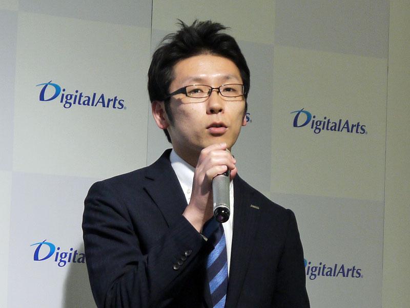 デジタルアーツ マーケティング部 i-FILTER課 課長の遠藤宗正氏