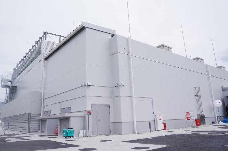 デジタル・リアルティ 第一大阪データセンター