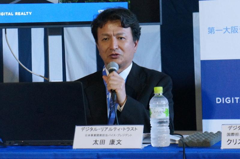 日本事業開発担当バイスプレジデントの太田康文氏