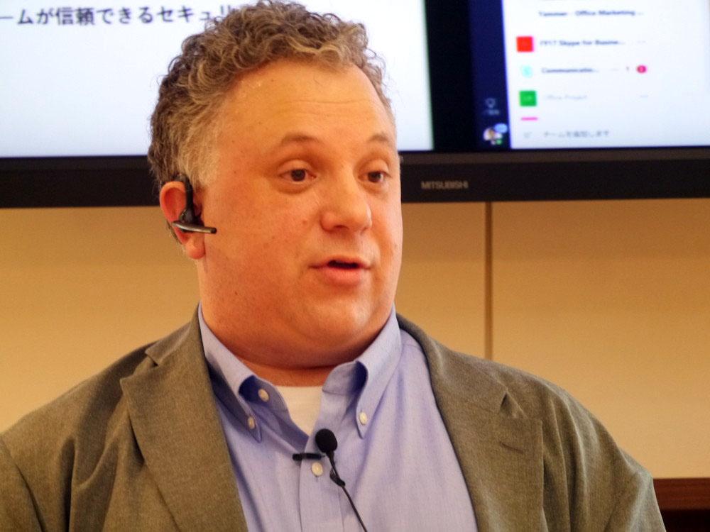 米MicrosoftのMicrosoft Teams製品部門 ダン・スティーブンソン シニアダイレクター