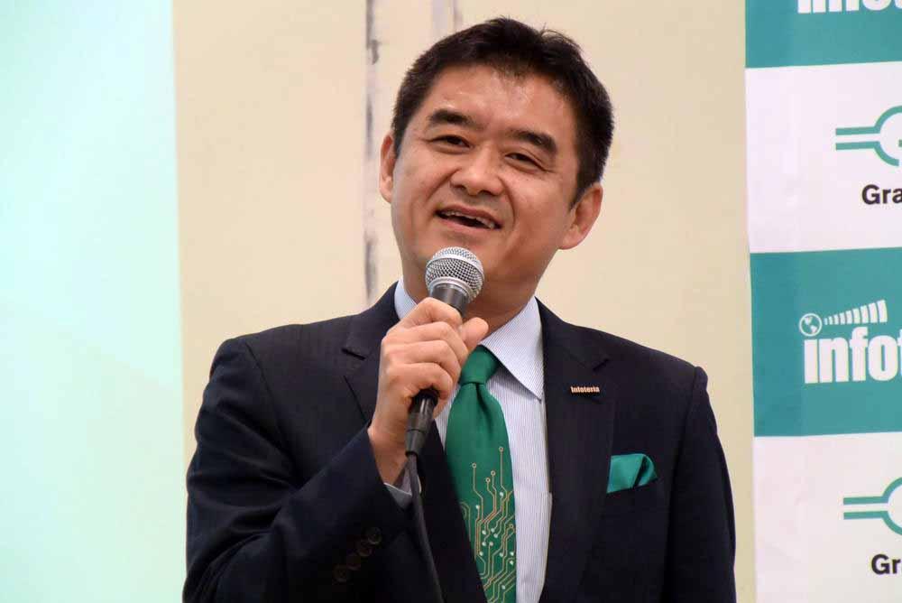 インフォテリア 代表取締役社長 CEOの平野洋一郎氏