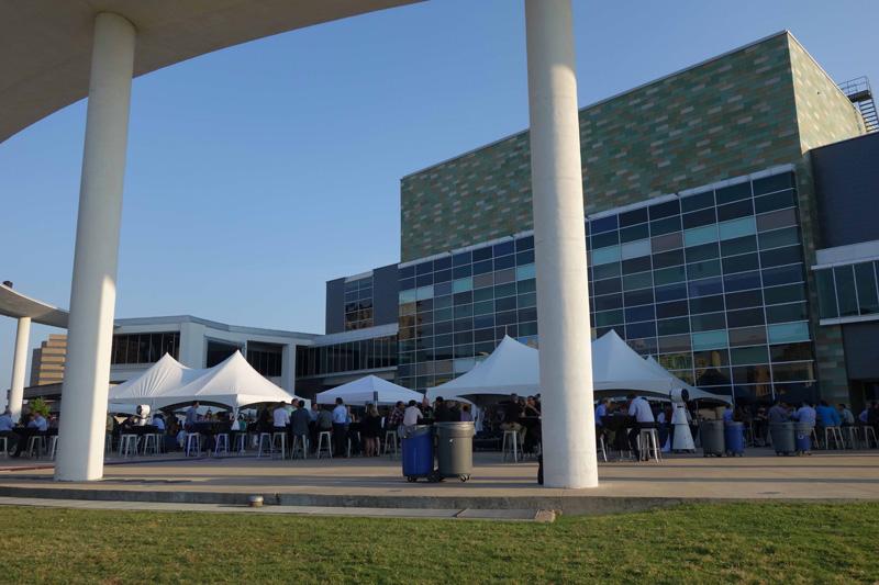 AMDが発表を行ったオースティンの「Long Center」