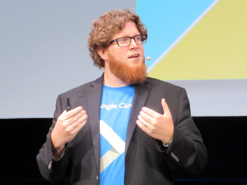 米GoogleのGoogle Cloud グローバルヘッドソリューションズ マイルズ・ワード氏