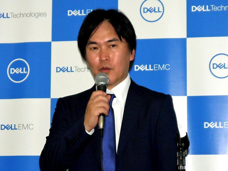 デル 広域営業統括本部 執行役員 統括本部長の清水博氏