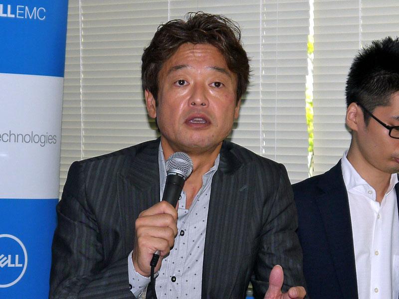 カゴヤジャパン 代表取締役の北川貞大氏