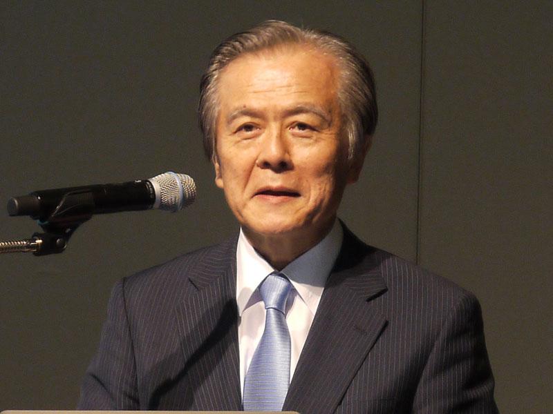 テレキューブコンソーシアム 理事長でプラチナ構想ネットワーク 会長の小宮山宏氏