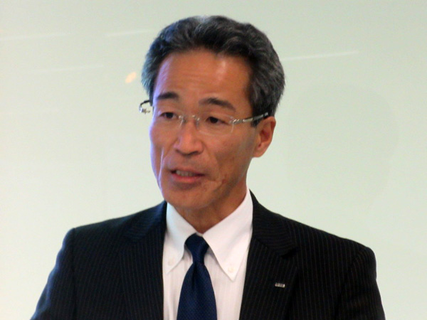 日本IBM 執行役員 インダストリー・ソリューション事業開発担当 鶴田規久氏