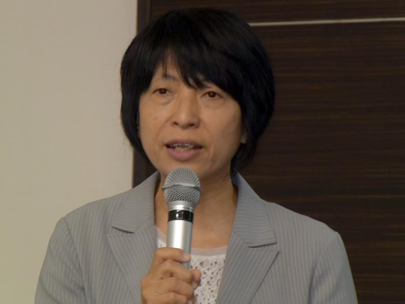 ワイズスタッフ 代表取締役の田澤由利氏
