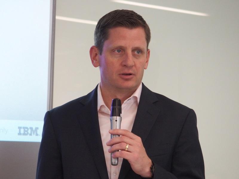米IBMのロブ・トーマス氏