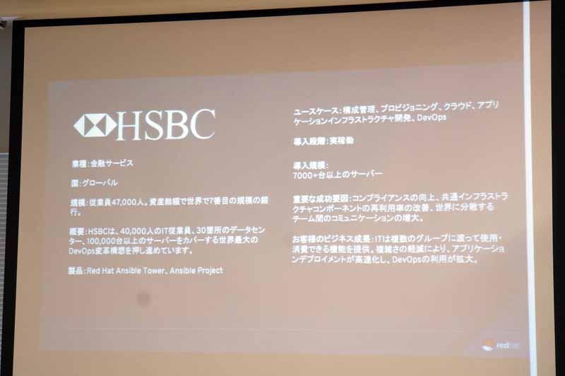 国際メガバンクのHSBCの事例