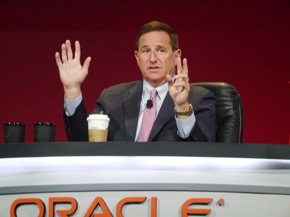 米Oracleのマーク・ハードCEO
