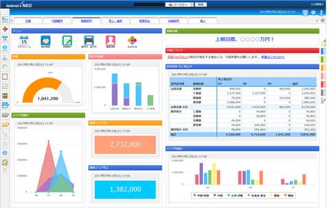 ネオジャパン、社内アプリ構築ツール「AppSuite」を搭載したグループウェア「desknet's NEO V4.0」