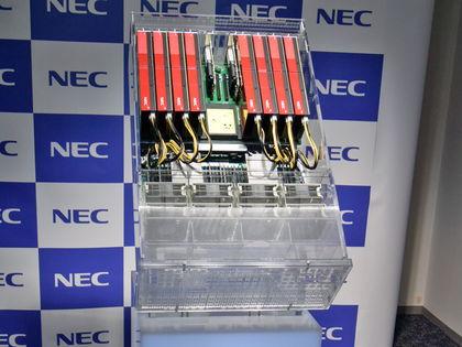 NECの新スパコン「SX-Aurora TSUBASA」、x86とベクトル型のハイブリッドで高性能と使いやすさを両立 SX-Aurora TSUBASA