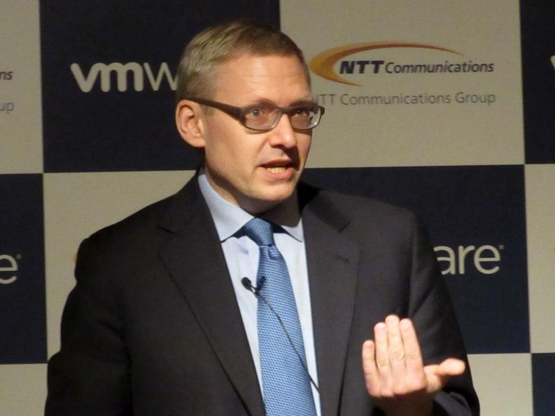 米VMware クラウド・ネットワーキング担当最高技術責任者 グイド・アッぺンツェラー氏