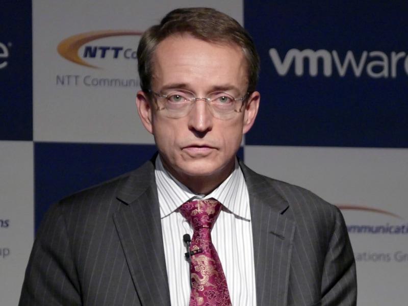 米VMware CEO パット・ゲルシンガー氏
