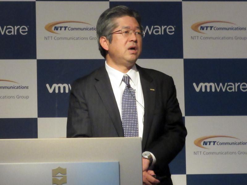 NTT Com 取締役 クラウドサービス部長 森林正彰氏