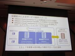NTT ComとVMware、マルチクラウド環境の提供に向けて業務範囲を拡大 サービス提供イメージ