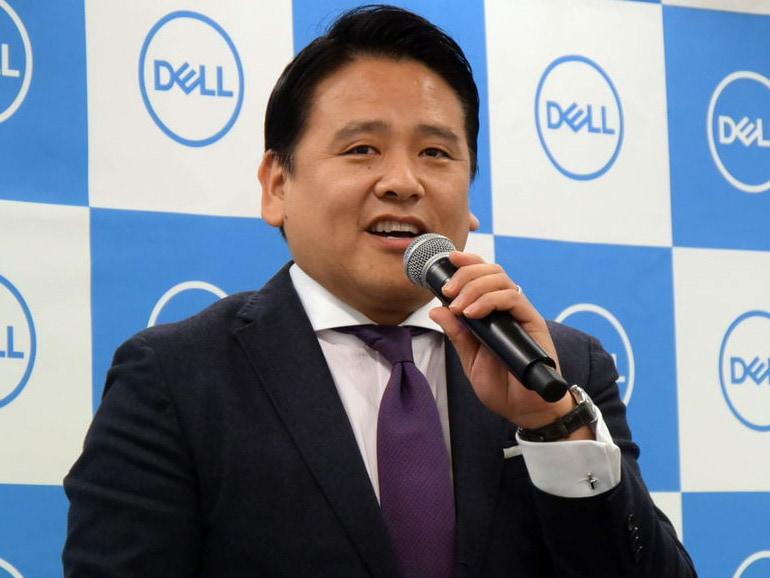 デル 常務執行役員 コンシューマー&ビジネス事業統括本部長の渡邊義成氏