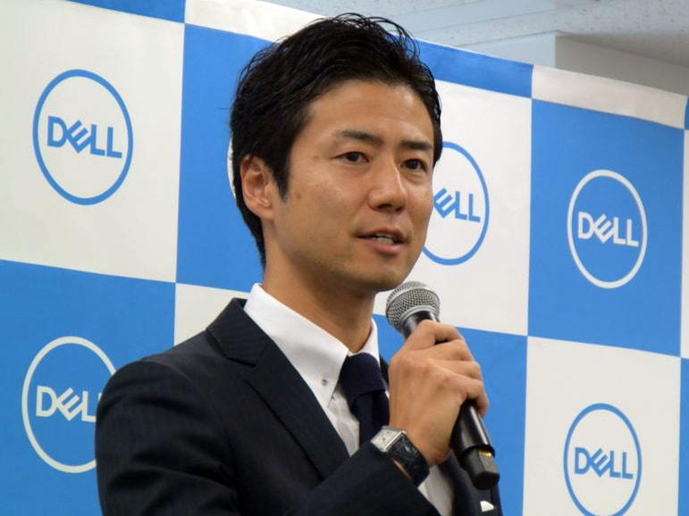 デル コンシューマー&ビジネスマーケティング統括本部 本部長の田尻祥一氏