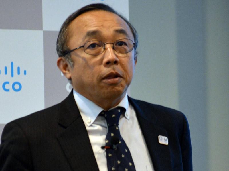 シスコ 専務執行役員 パートナー事業統括の高橋慎介氏