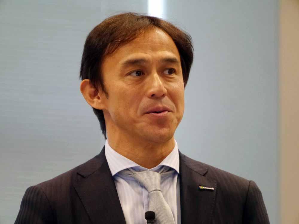 日本マイクロソフト 執行役員常務 パートナー事業本部長の高橋美波氏