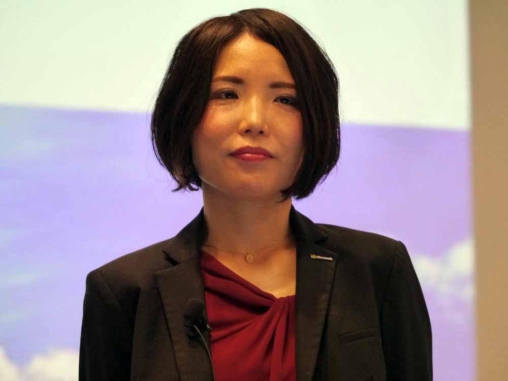 日本マイクロソフト Windows&デバイスビジネス本部の三上智子本部長