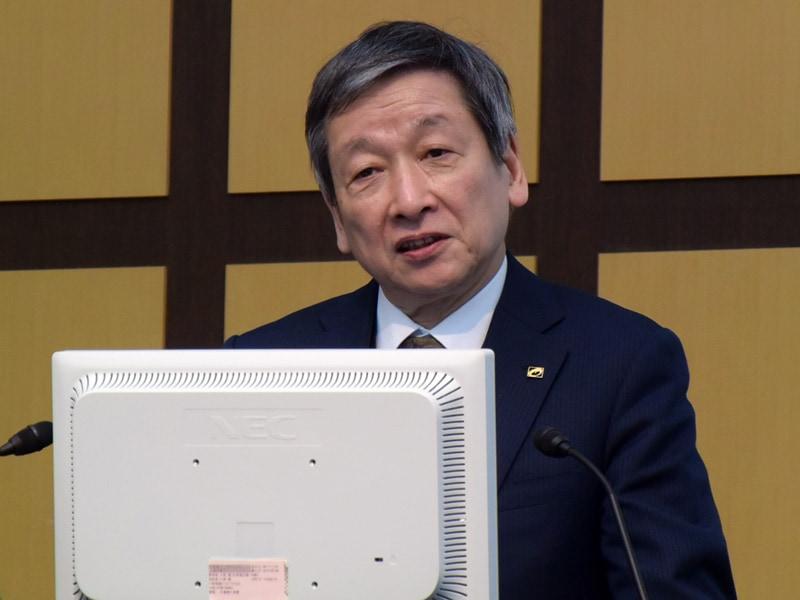 代表取締役社長の大塚裕司氏
