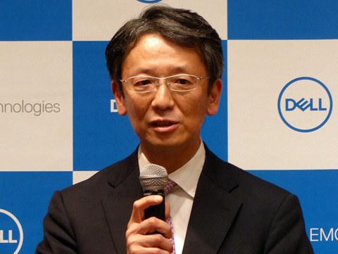 EMCジャパン 代表取締役社長 大塚俊彦氏