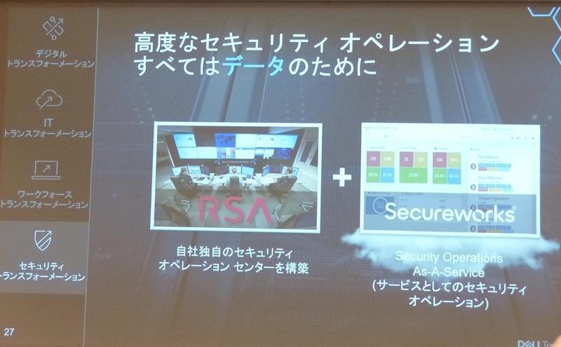 セキュリティトランスフォーメーションにはRSAとSecureworksで対応