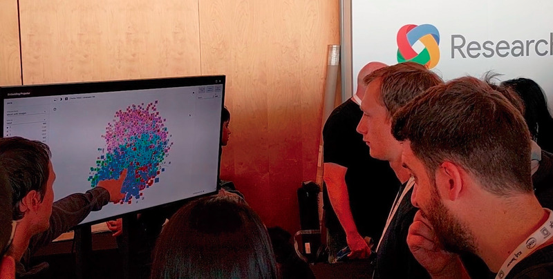 写真2:教育、学術研究、各業種のビジネスでTensorFlowを用いたマシンラーニング活用の試みが広がっている(出典:YouTubeのGoogle Developersチャンネル「TensorFlow: Machine Learning for Everyone 」)