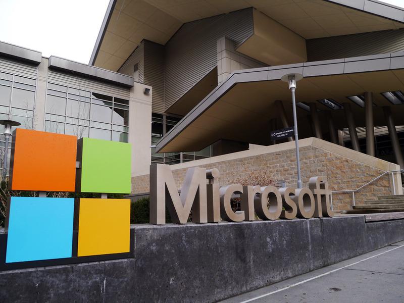 米Microsoft本社