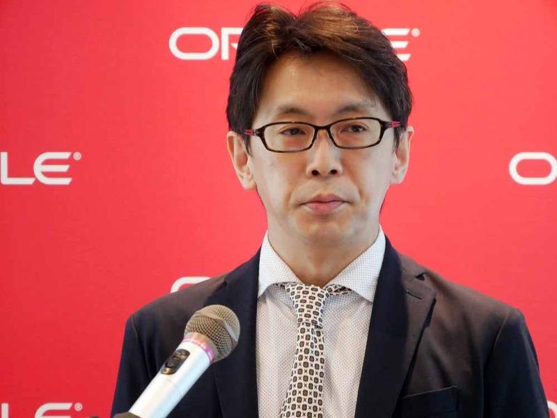 日本オラクル クラウド・テクノロジー事業統括Cloud Platformビジネス推進本部本部長の佐藤裕之氏