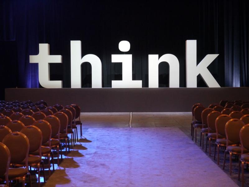 「Think」は、IBMにとって重要な言葉だ