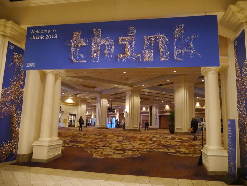 米国ネバダ州ラスベガスで開催された「Think 2018」