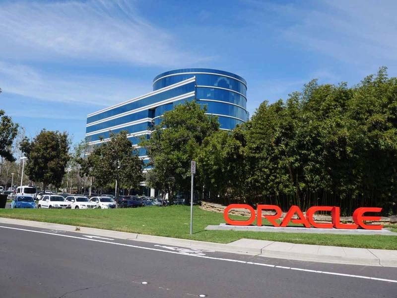 カリフォルニア州レッドウッドショアズの米Oracle本社