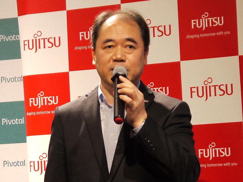 富士通 デジタルフロントビジネスグループ エグゼクティブアーキテクトの中村記章氏