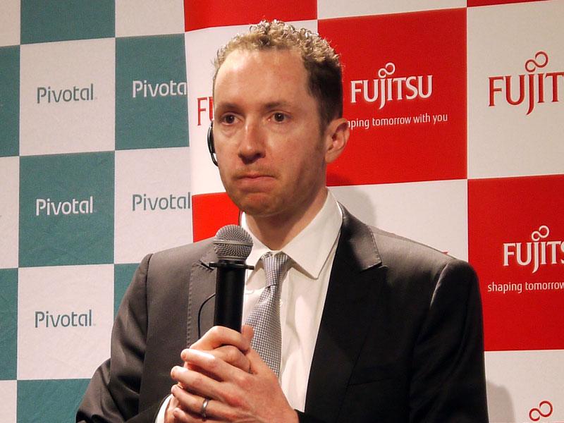 Pivotal Software サービス事業担当 シニアヴァイスプレジデントのエドワード・ハイアット氏