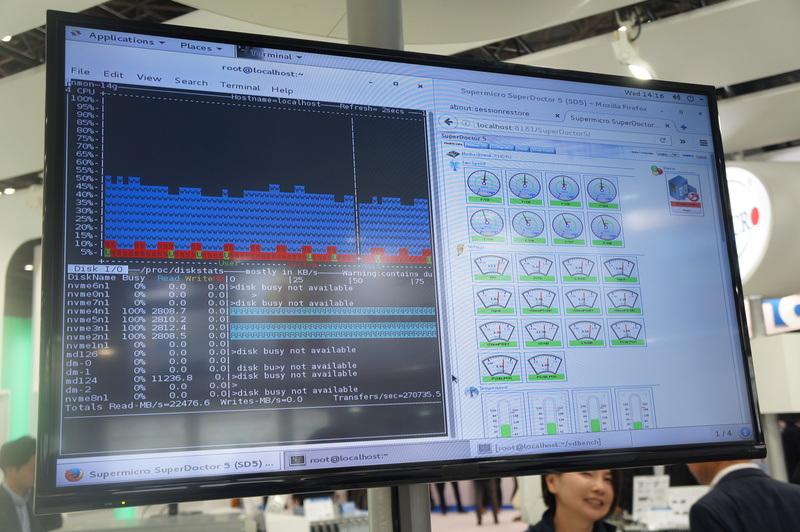 VROCによるNVMeのRAID10でリード11000MB/s以上