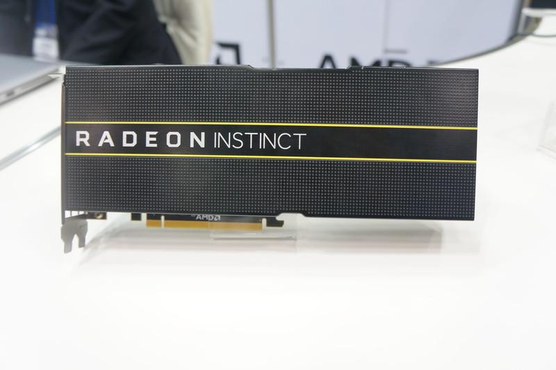 GPUアクセラレータ「AMD Radeon Instinct」