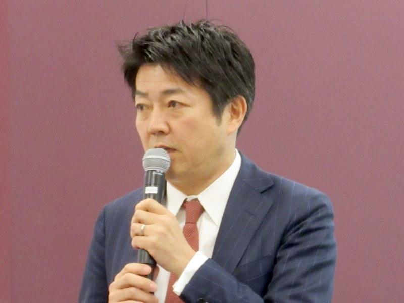 セールスフォース 専務執行役員 コマーシャル営業の千葉弘崇氏