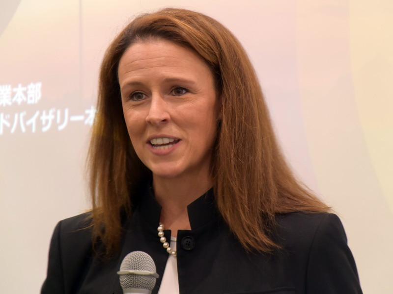 Head of SAP SuccessFactors APJ Senior Vice President Jill Popelka 氏