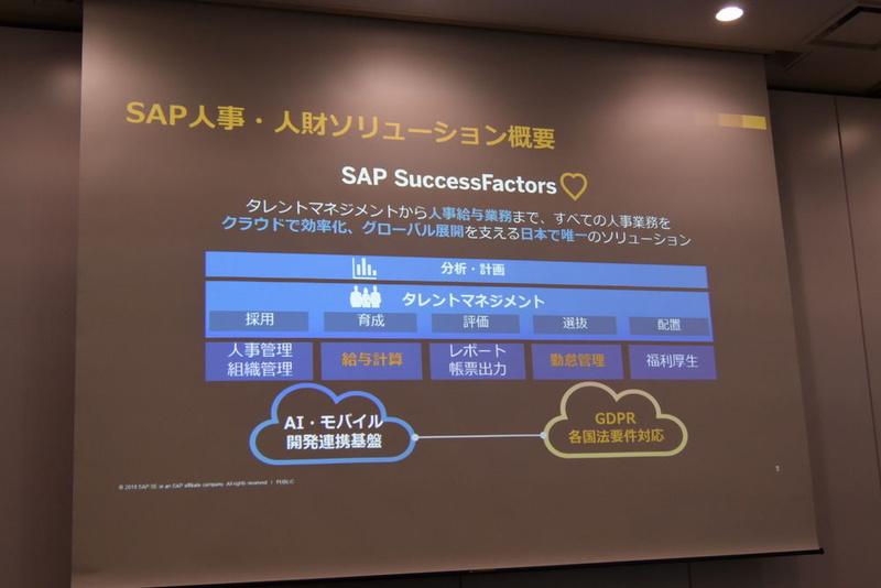 SAPの人事・人財ソリューション