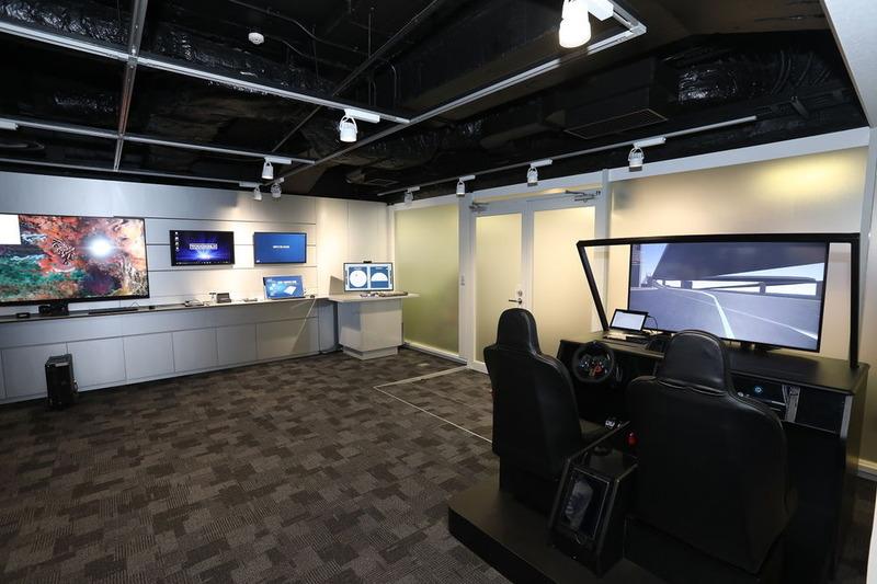 コラボレーションセンターの内部の様子
