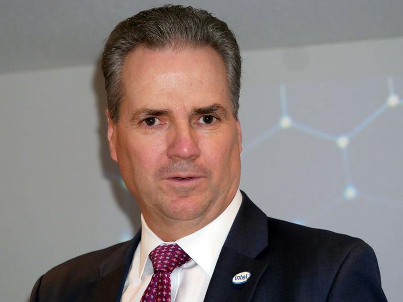 インテル 代表取締役社長のスコット・オーバーソン氏