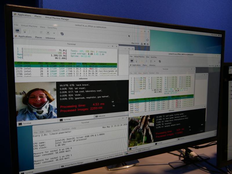 FPGAを活用したデータセンターの高速化デモ