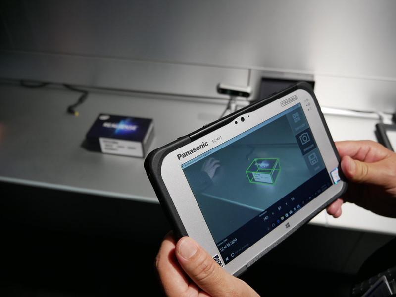 空間採寸・温度センシングソリューション向け頑丈タブレット