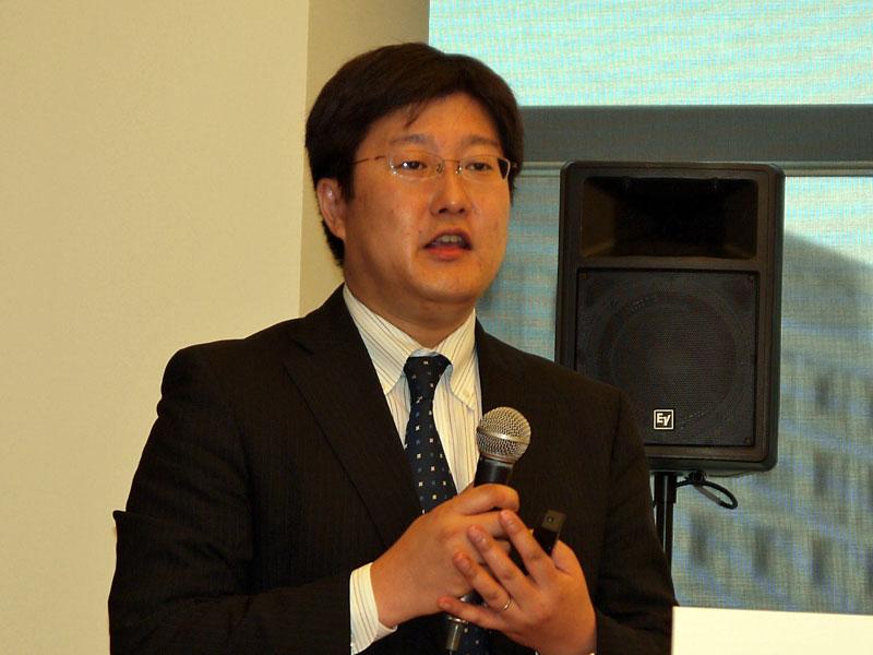 日本ヒューレット・パッカード ハイブリッドIT事業統括 ハイブリッドIT製品統括本部 カテゴリーマネージャーの関根史和氏