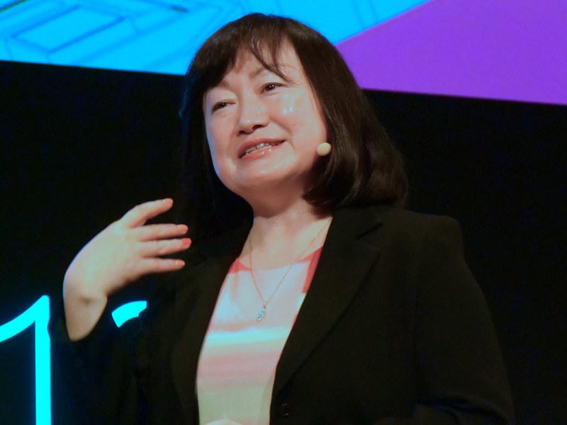 日本マイクロソフト 執行役員 常務 デジタルトランスフォーメーション事業本部長の伊藤かつら氏