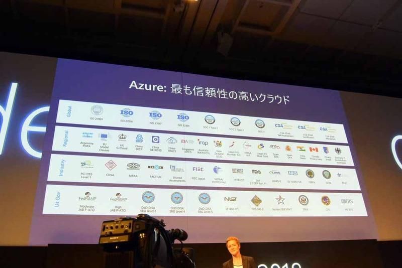 Azureは最も信頼性の高いクラウド